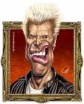 """Er war früher fleißig in der Schule, und aus Spaß nannte er sich dann """"Billy Idol"""" (""""idle"""" = faul)."""