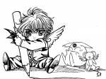 Kamui hat als Kind eine Freundin und einen Freund.