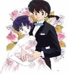 Akane ist seit der ersten Begegnung mit Ranma befreundet.
