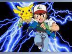 Ash sieht am Anfang seiner Reise in Alabastia welches Pokémon?