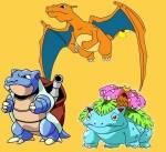 Welche Attacken können nur die vollständig entwickelten Starter-Pokémon erlernen?