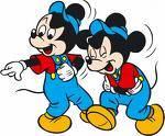 Wie heißen die beiden Neffen von Micky Maus?