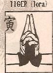 Für welches Tier steht dieses Fingerzeichen?