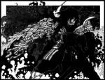 In wen verwandelt sich Alucard in Band 8?