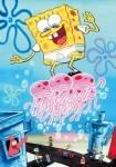 Bei einer Folge gab es in Bikini Bottom heftigen Wind und aus Spongebobs Löchern kamen Töne, die die Quallen liebten! Die Quallen verfolgten ihn, bi