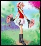 "Sakura heißt übersetzt ""Kirschblüte"""