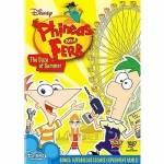 Von wem wird Phineas aufgefangen, als er aus dem Geisterhaus fiel?