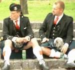 Was trägt ein Schotte unterm Kilt?