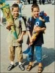 Wie alt waren die beiden, als sich ihre Eltern trennten?