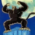Wie heißt das Wesen, in das sich Son Goku bei Vollmond verwandelt?