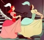 Leichte Frage: Wie heißen die bösen Stiefschwestern von Cinderella?