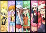 Wer hatte welches Starter-Pokemon?