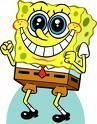 Spongebob ist ein Schwamm.