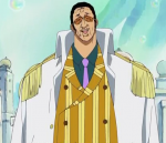 Welchen Anlass hatte Admiral Kizaru, zum Sabaody Archipel zu gehen?