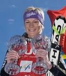 Maria Riesch gewann 08/09 den Gesamtweltcup der Alpin-Skifahrerinnen.