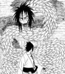 Sasuke hat mit Naruto Orochimaru umgebracht.