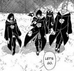 Itachi ist gestorben. Sasuke und sein Team treten den Akatsuki bei.