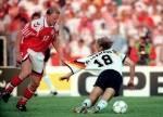 EM 1992: Im Finale gegen Dänemark verlor die deutsche Nationalmannschaft sensationell mit 0:2. Warum hätte das Tor zum 2:0 für Dänemark durch Kim