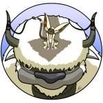 Aangs Begleiter heißen Appa und Mono.