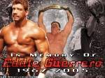 Gegen wen kämpfte er in einem würdigen Eddie Guererro Abschied Match?