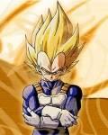Dragonball -Vegeta ist der zweite Super-Saiyajin der im Manga erscheint.