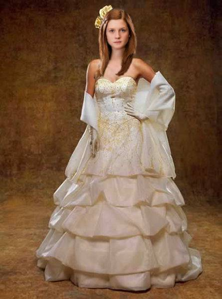 harry potter wedding dress das gro 223 e harry potter fanquiz 4734