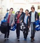 Was machten die vier Jungs vor ihrem Durchbruch?