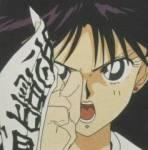 Rai kann ohne sich in Sailor Mars zu verwandeln einen bösen Geist vertreiben, weil sie im Tempel arbeitet.