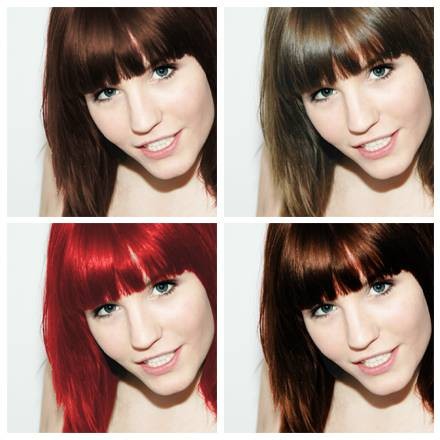 Welche haarfarbe passt zu mir test foto