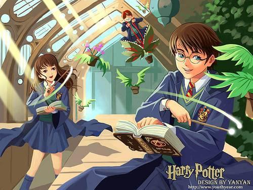 Harry Potter All Around Liebestest