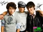 Wie heißen die Mitglieder der Jonas Brothers?