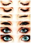 Welche Augenfarbe haben sie?