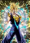 In wen fusionierten Goku und Vegeta sich das erste Mal?