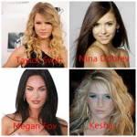 Welcher dieser Frauen ist deiner Meinung nach die hübscheste?