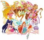 In welcher Reihenfolge haben die Winx ihre Enchantix bekommen?