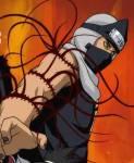 Welches Element hatte das Herz von Kakuzu, dass Kakashi als erstes zerstört?
