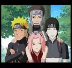 Mit wem ist Naruto in Naruto Shippuuden in einem Team?