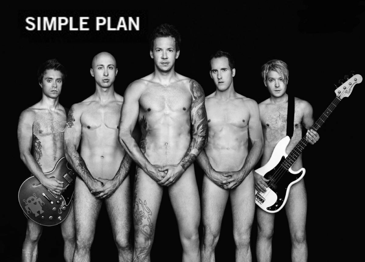 Simple plan appear in promo photo for gris prize for students fighting against homophobia