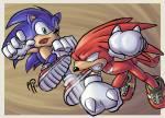 Sind Knuckles und Sonic überhaupt befreundet?