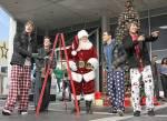 Mit wem nahmen die Jungs die letzten 2 Songs in Big Time Weihnachten auf?