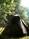 Es ist eine gute Idee, den Lager in der Nähe einer Wasser quelle aufzubauen?