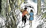 Welchem Vogel folgten die vier Pevensies bei ihrem ersten gemeinsamen Besuch in Narnia?