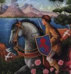 Wie heißt das Pferd, auf dem Shasta nach Narnia reitet?