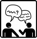 Redest du in der Schule mit deinen Freunden?