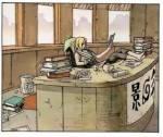 Du bist nun endlich am Büro von Tsunade angelangt und Klopfst an der Tür. Nach einer weile bittet sie dich herein. Du trittst ein und siehst wie Tsu