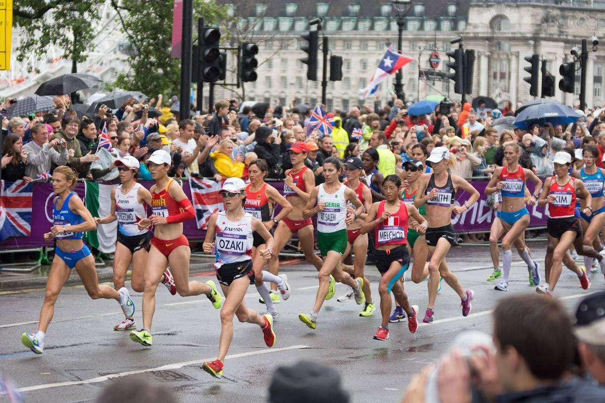 marathon frauen olympische disziplin