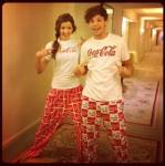 Wie heißt Louis's Freundin?