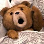 Redest du Abends immer mit deinem Teddy?
