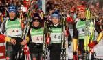 """Warum landete die deutsche Mixed Staffel, nach fast sicherem Sieg, """"nur"""" noch auf Platz 3?"""