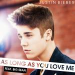 "Wie geht es bei ""As long as you love me"" weiter?""Seven billion people in the world trying to fit in..."""